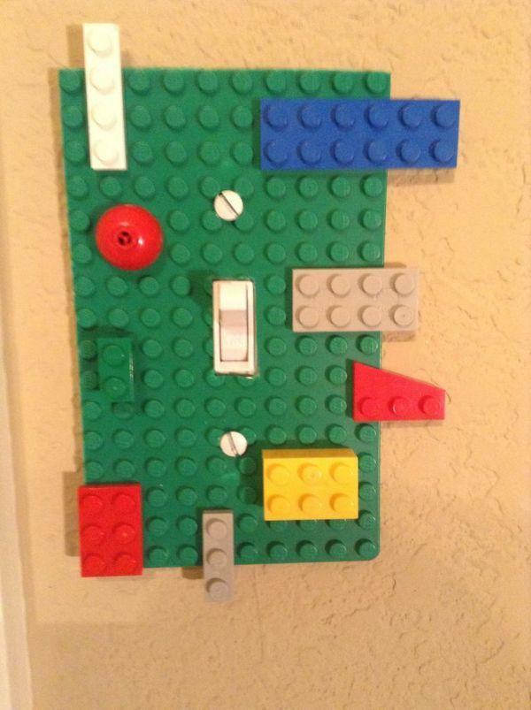 Retro Lichtschalter diy deko lego Designs | Kreatives Gestalten ...