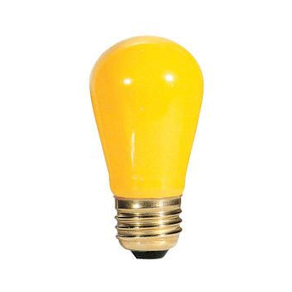 11w S14 Sign Ceramic Yellow E26 130v Indicator Night Light Sold As 75 Light Bulb Specialty Light Bulbs Bulb