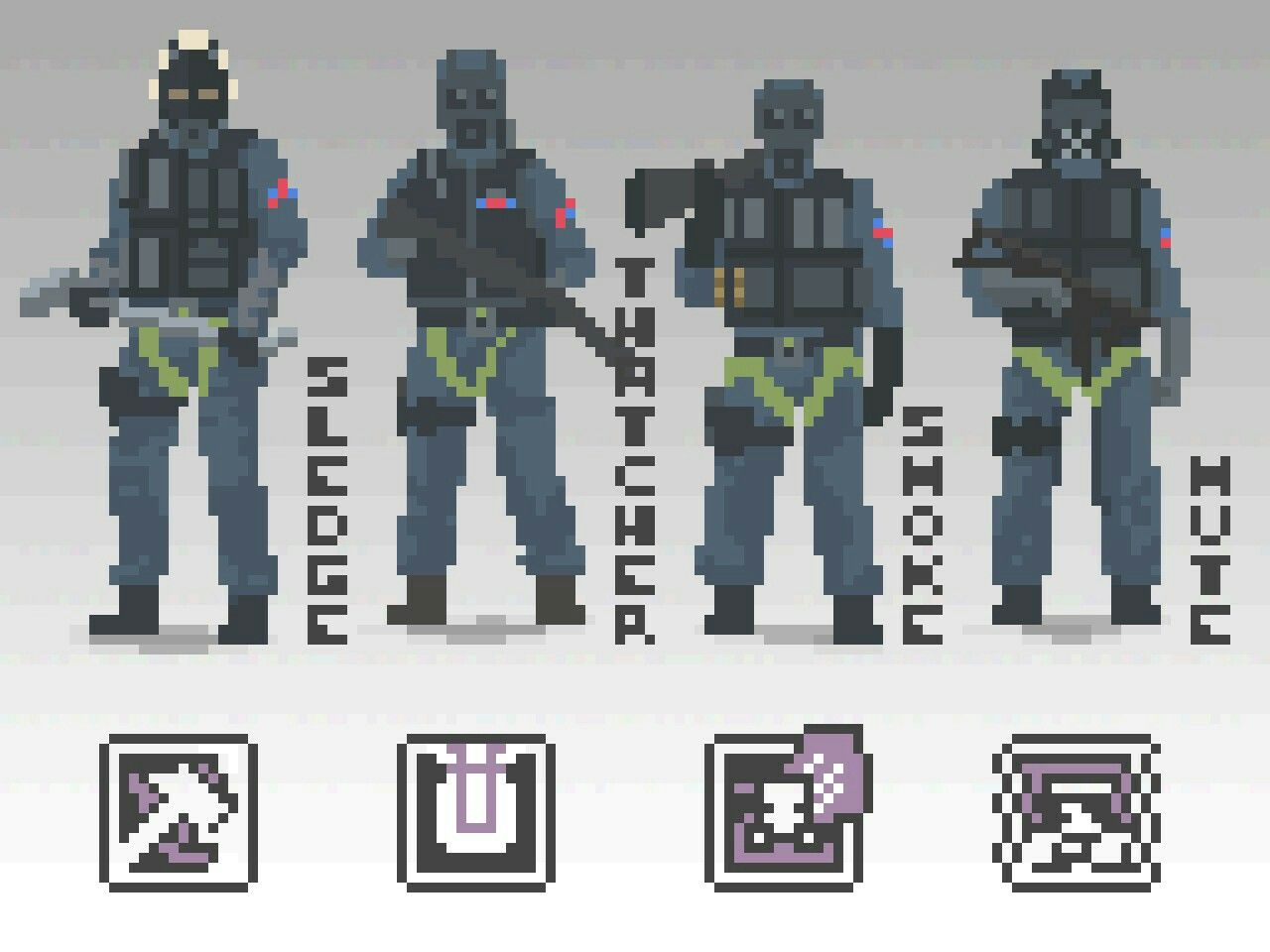 S.A.S Pixels This artwork is belong to NotFuji,Please rate this in Steam