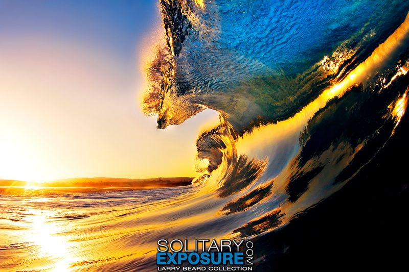 Solitary Exposure - Ocean Fine Art | Waves Collection | Wedging Dawn