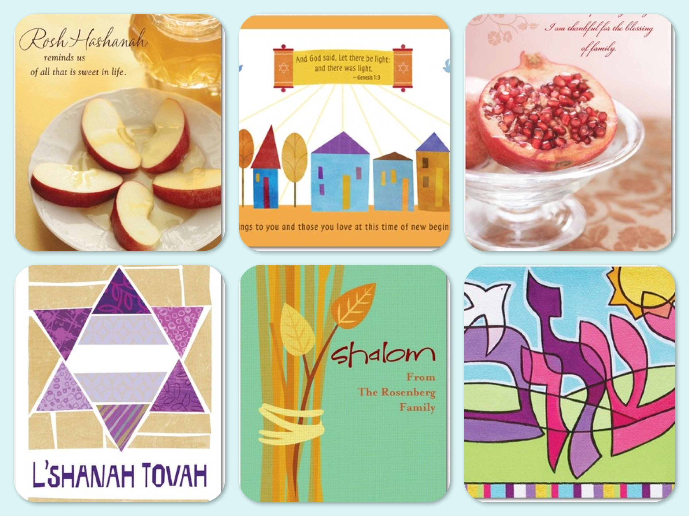 Variety Of Greeting Cards For The Jewish Holidays Newfoundlife