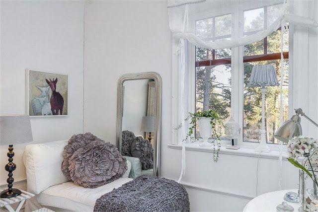 Shabby and Charme: In Svezia una bellissima villa in stile shabby chic