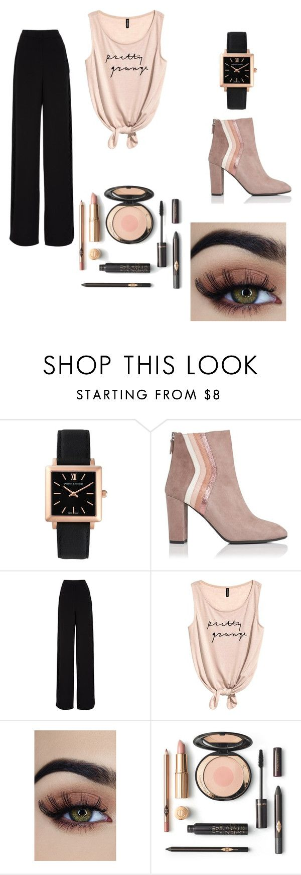 """""""damn!"""" by keidys-pereira on Polyvore featuring Larsson & Jennings, L.K.Bennett and Rochas"""