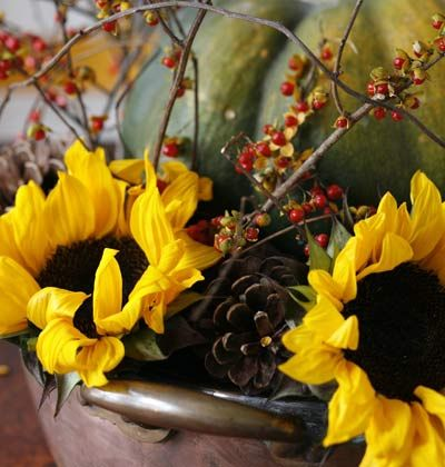 What To Do < 7 Easy Fall and Holiday Centerpieces - MyHomeIdeas ...