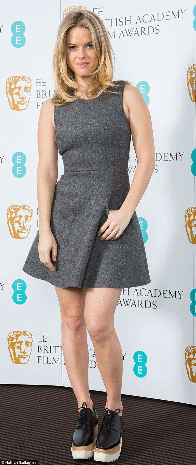 Alice Eve Flashes Her Enormous Engagement Ring At Bafta Event