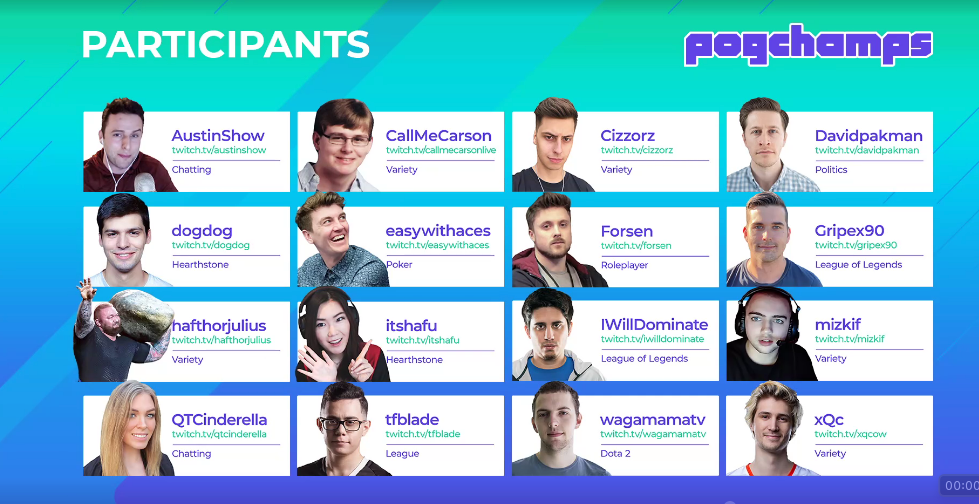 Pogchamps Chess Showdown On Twitch Tv Chess Players Chess Hearthstone