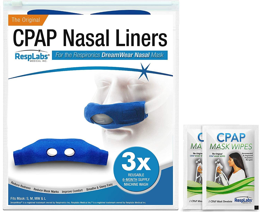 Amazon Com Resplabs Cpap Mask Liners Compatible With Dreamwear Cpap Mask Nose Coze Health Personal Care In 2020 Cpap Mask Cpap Liner