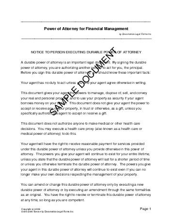 Power Of Attorney (Usa) - Legal Templates - Agreements, Contracts
