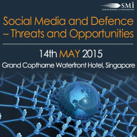 Social Media and Defence – Threats and Opportunities at Grand Copthorne Waterfront Hotel, Singapore, 392 Havelock Road, Singapore, 169663, Singapore on April 14 - May 14 at 08:30 - 16:40. SMi is delighted to announce the Social Media and Defence – Threats and Opportunities masterclass will take place on the 14th May 2015 in Singapore. Category: Conferences, Price: GBP 599, Booking: http://atnd.it/19917-0, Speakers: Philip Trippenbach, Account Director, Edelman Digital