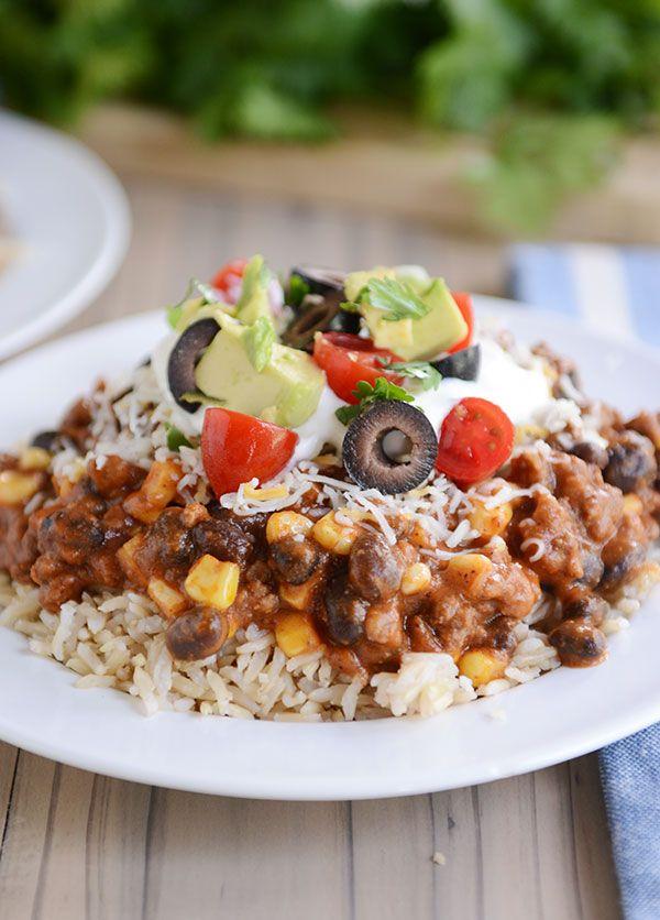 Mexican Haystacks Recipe 30 Minute Meal Mel S Kitchen Cafe Recipe Haystacks Recipe Mexican Food Recipes Mexican Haystacks Recipe