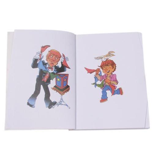 new children funny trick a fun magic coloring book for kids magician kingmagic - Coloring Book Magic Trick