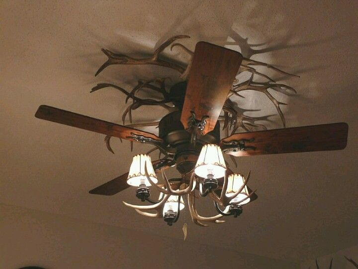 Another Antler Ceiling Fan