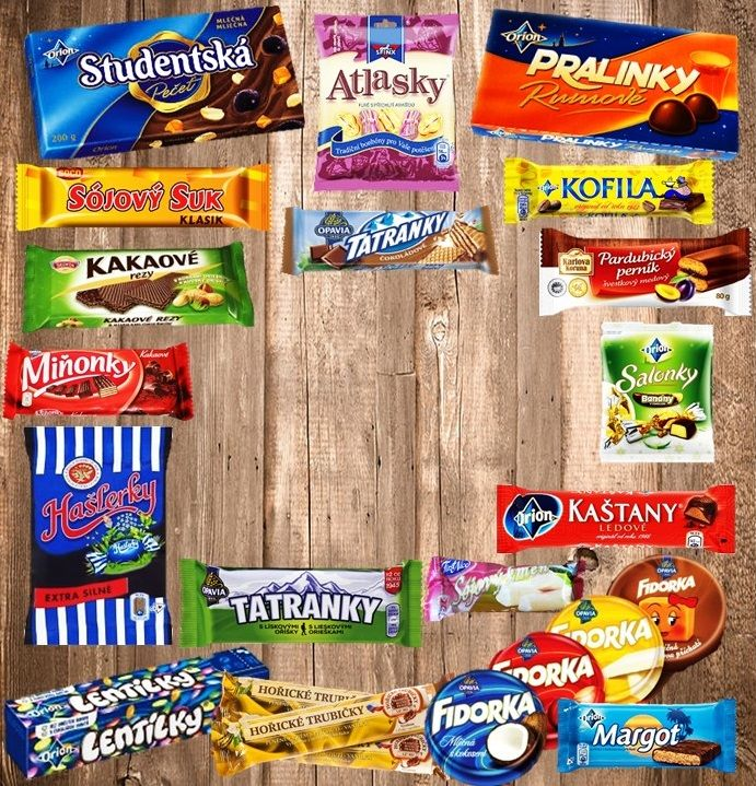 Popular Czech Candy Collection Now Available in the USA