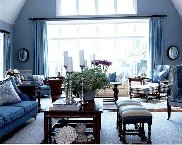 20 Blue Living Room Design Ideas Blue Furniture Living Room