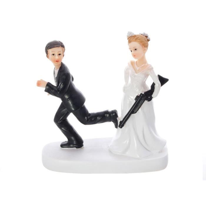 Bien-aimé Figurine pour gateau mariage humoristique – Les recettes  WN76