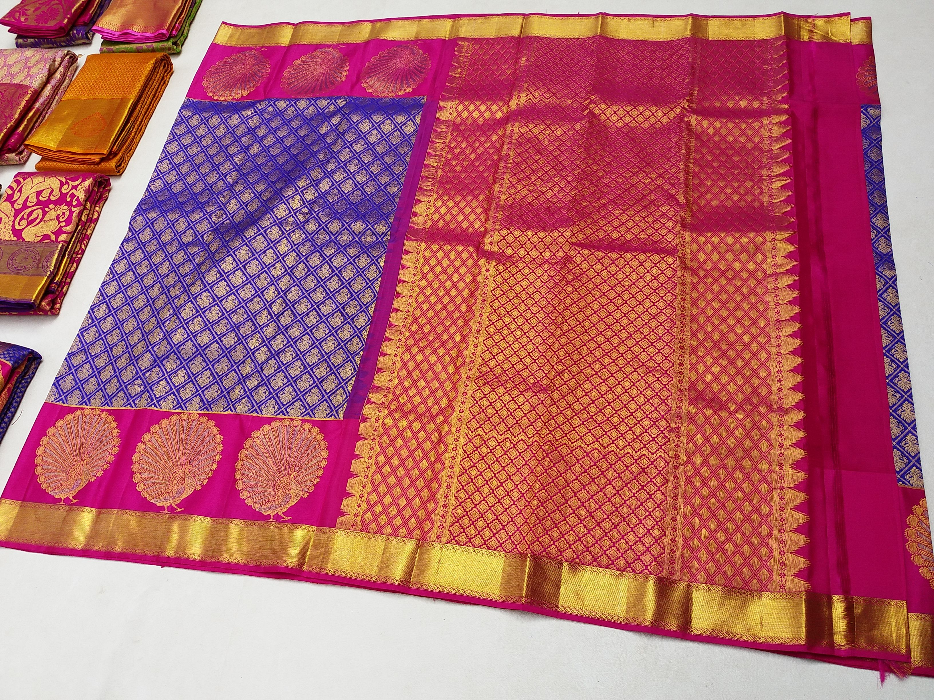 0141ca9d0f Sri Sarvalakshmi Silks Saree Manufacture & Wholesale Supplier kanchipuram  pure handloom fancy silk saree Original kancheepuram Silk Sarees  Manufacturers and ...