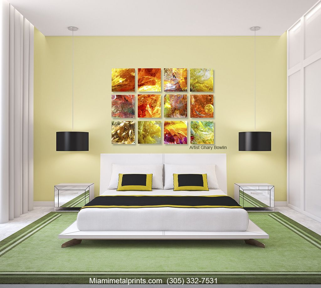 Attractive Aluminum Wall Art Motif - The Wall Art Decorations ...