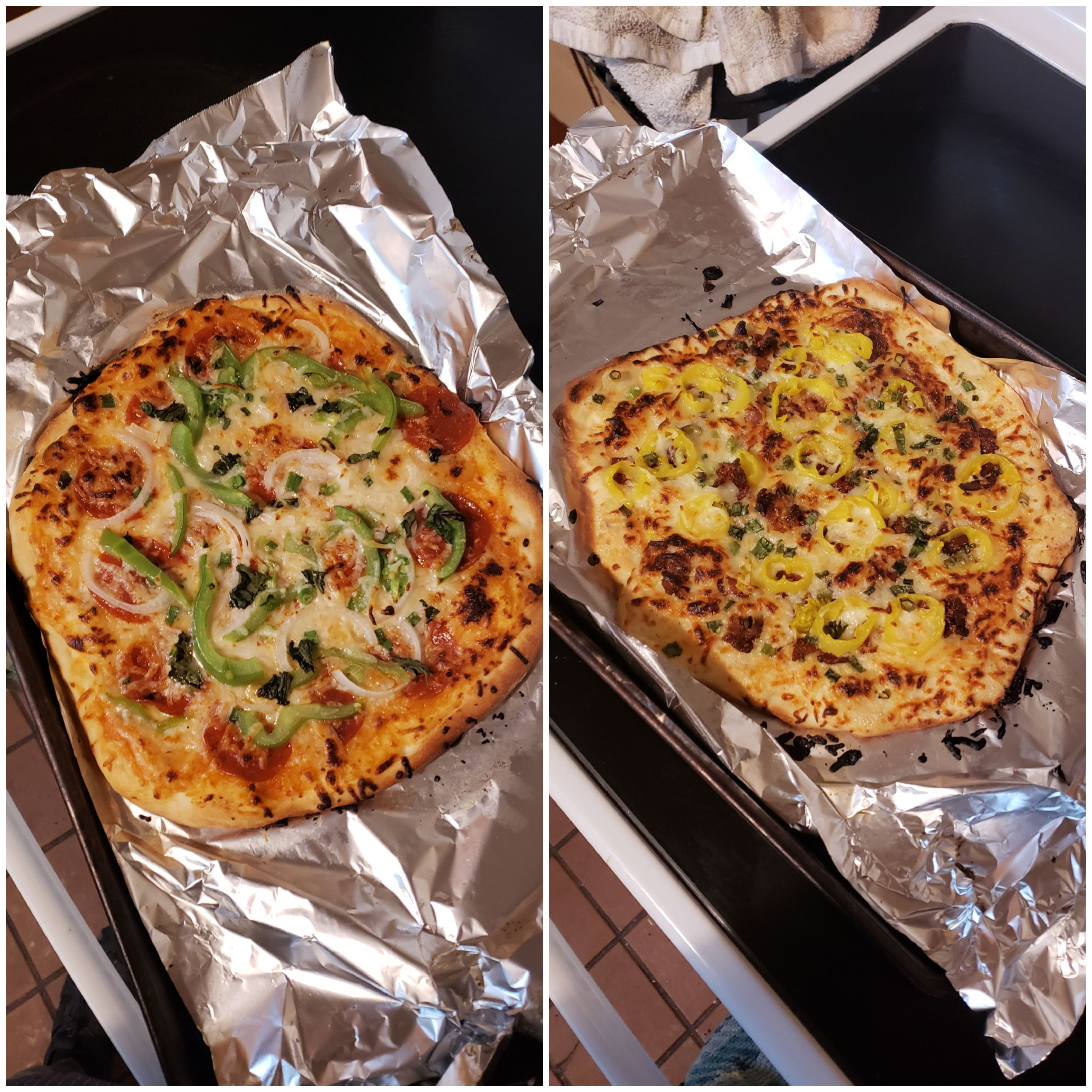 I'm trying to get back into pizza making after being five