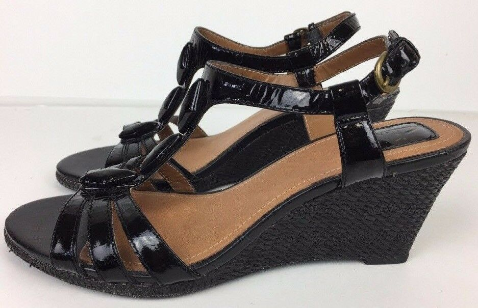 3f3bca3bdbf Clarks Shoes Women s Sandals Strappy Black Leather 3