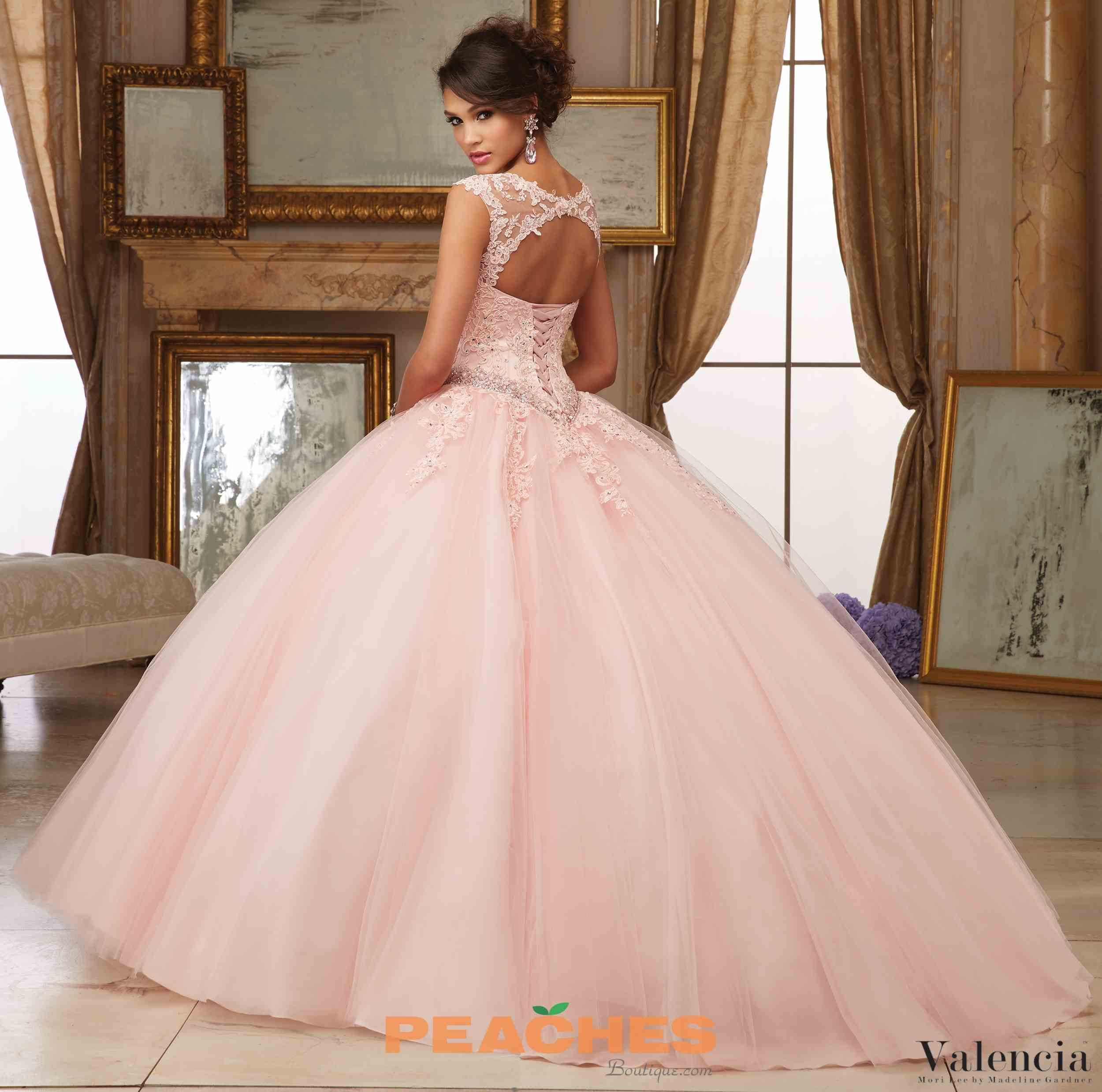 Valencia by Vizcaya Lace Ball Gown 60006 | modas | Pinterest | 15 ...