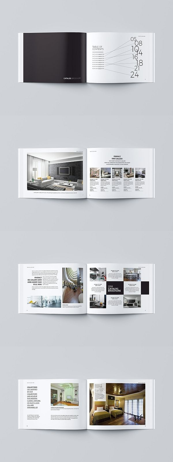 multipurpose catalog brochure templates pinterest brochure
