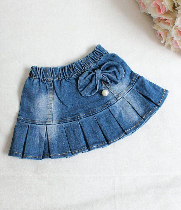 f4c8a5dbeef Как сшить джинсовую юбку для девочки своими руками
