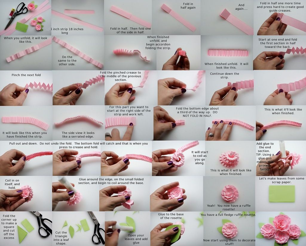 flower making ideas
