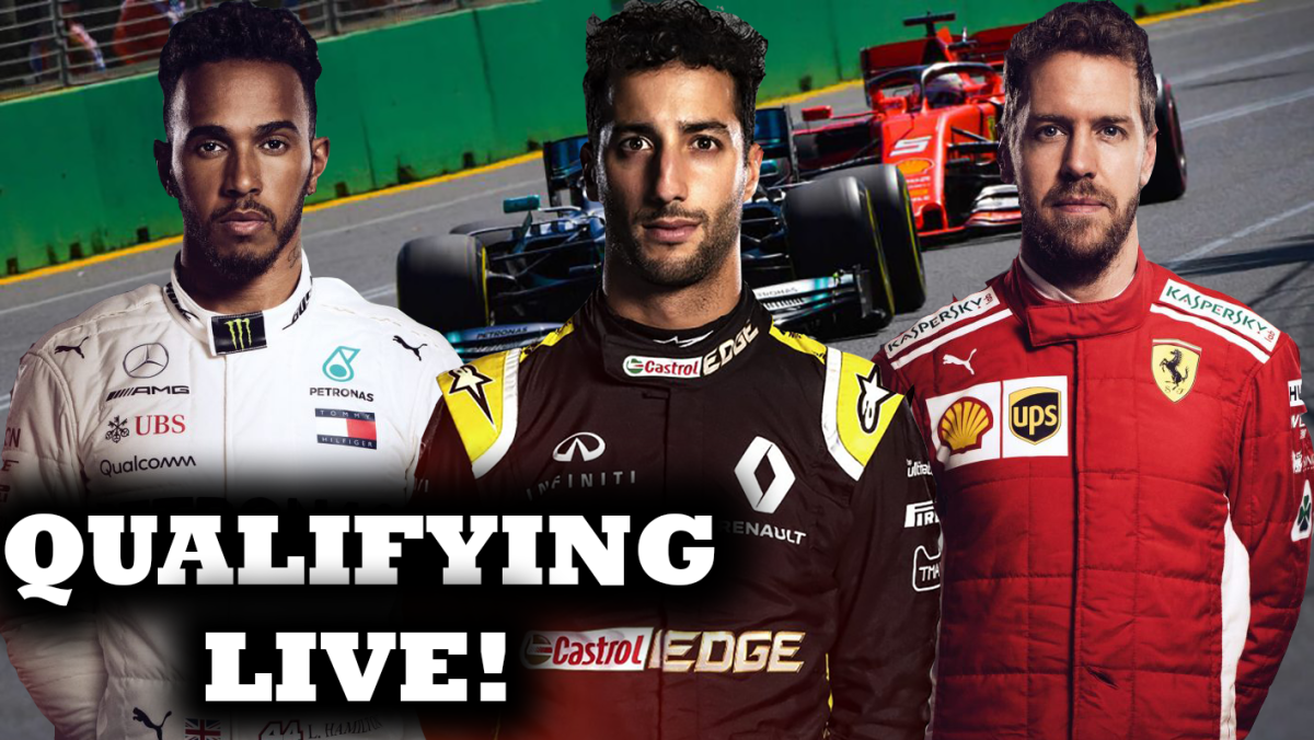 2019 Australian Grand Prix Qualifying Watchalong | F1