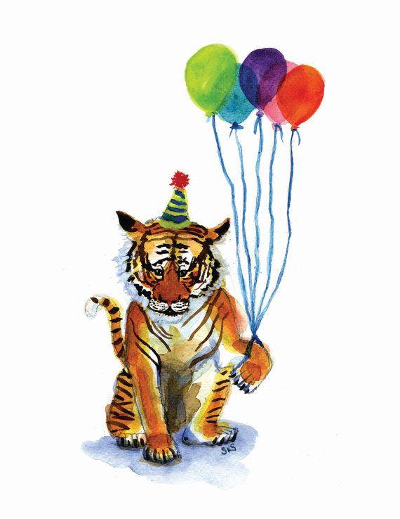 Tiger Birthday Card Skschmidt Cards Pinterest Cards Birthday