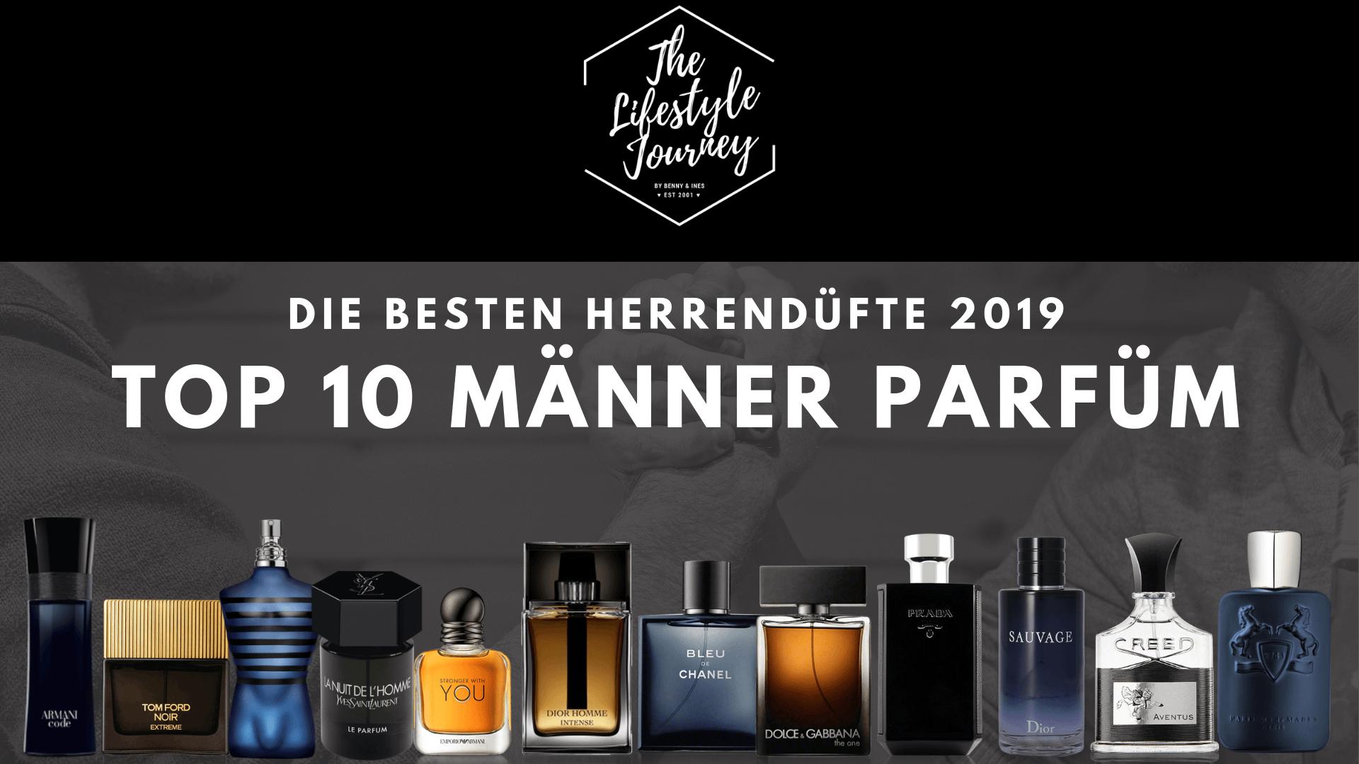 Herren Parfum Top 10 ⭐lll Die besten Herrendüfte 2019
