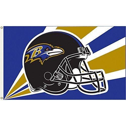 Minnesota Vikings NFL 3x5 Feet Indoor//Outdoor Team Flag