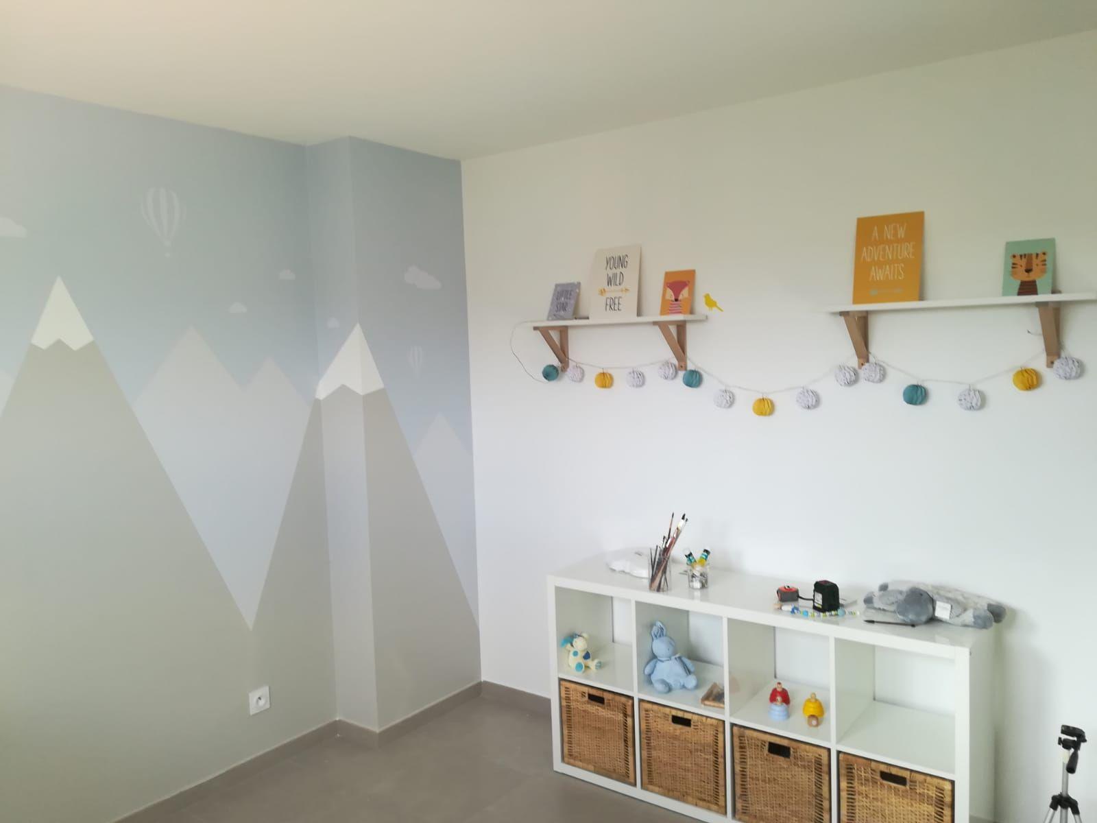 Peinture Tollens . Montagne Décoration IKEA, vertbaudet | Decoration ikea, Ikea, Peinture tollens