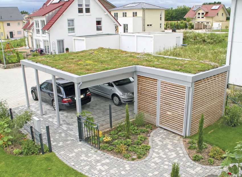 Carport Overmann Epr2 Doppelcarport Carport Garage Bauen