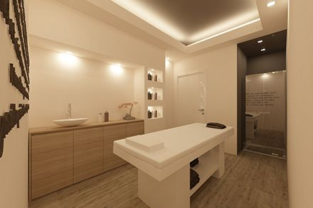 Arredamento Per Cabina Estetica : Arredamento centro estetico 瑜伽房 spa salons and