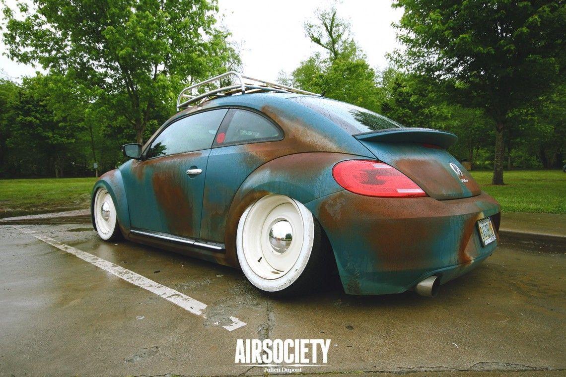 Slammed VW New Beetle