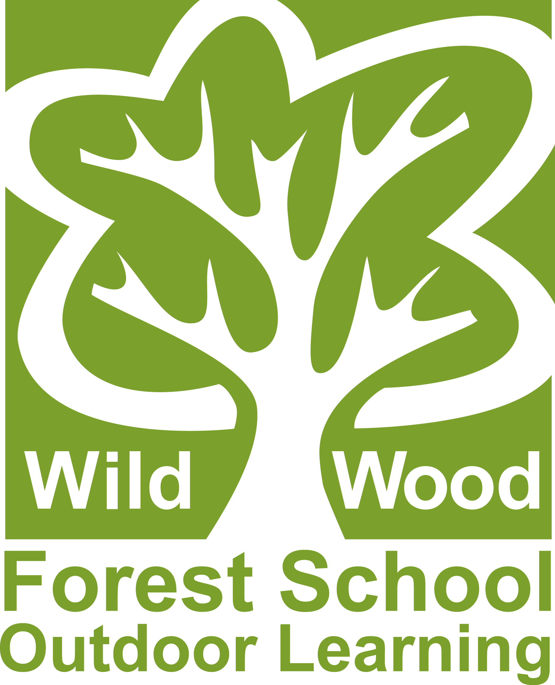 Wild Wood Forest School And Outdoor Learning Logo