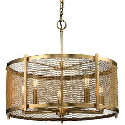 Drum Pendant Lighting Ceiling