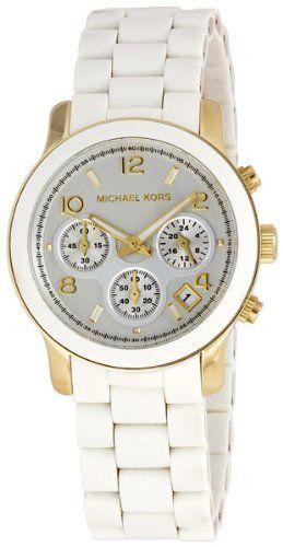 539e38937526 Michael Kors MK5145 Women s Two Tone Stainless Steel Quartz Chronograph  White Dial Watch  148.00