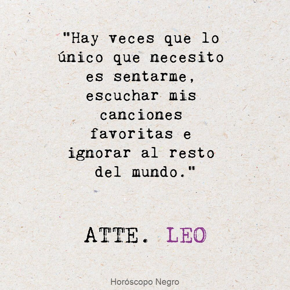 Leo Horoscoponegro En Instagram Leo Horoscoponegro Quotes Leo My Books