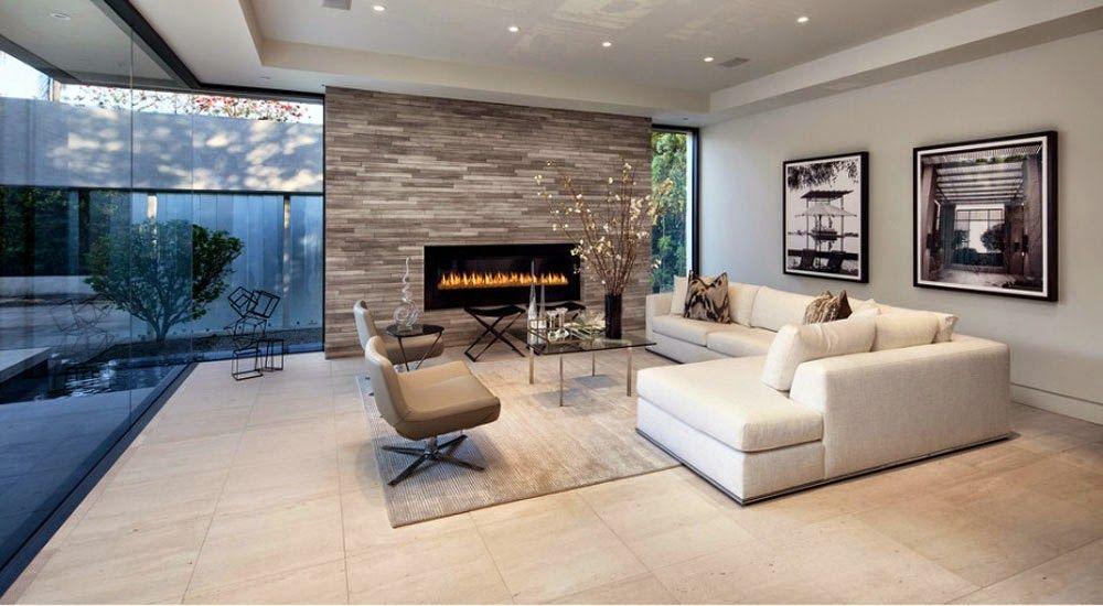 Dise os de salas o living room para casas modernas for Salas modernas de casas