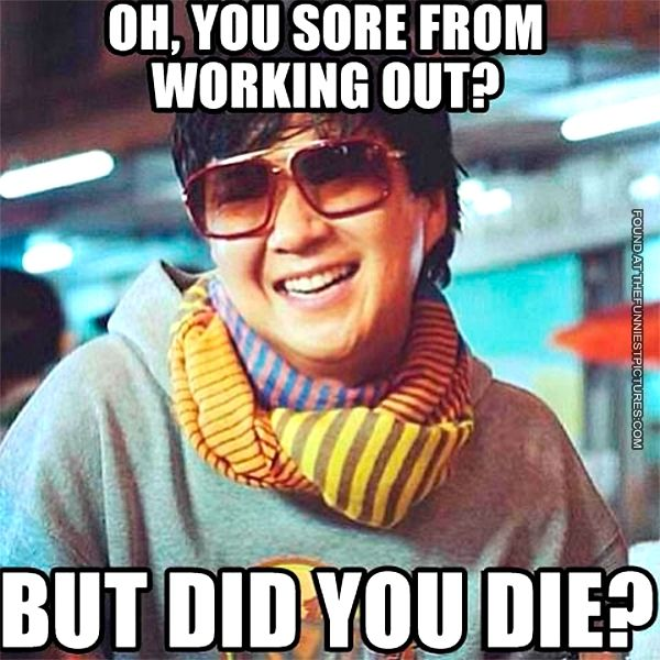 Sore From Working Out Workout Memes Workout Humor Fitness Motivation