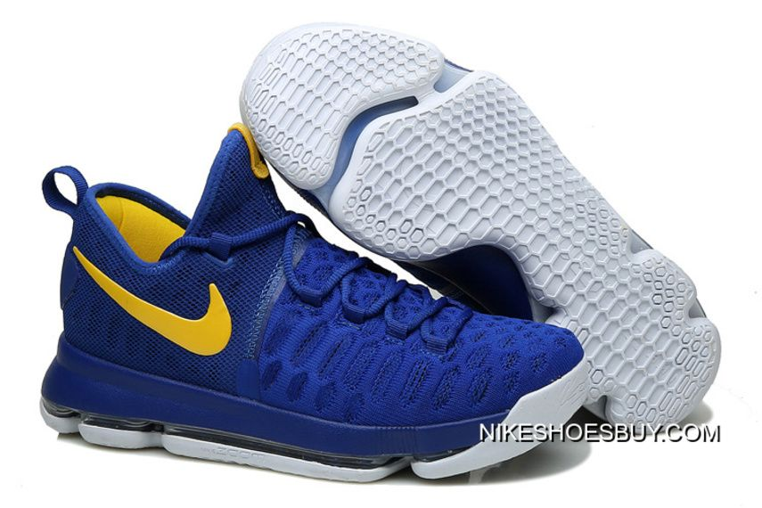 87770dae8ca5 https   www.nikeshoesbuy.com kd-9-warriors-shoes-true-blue-yellow ...