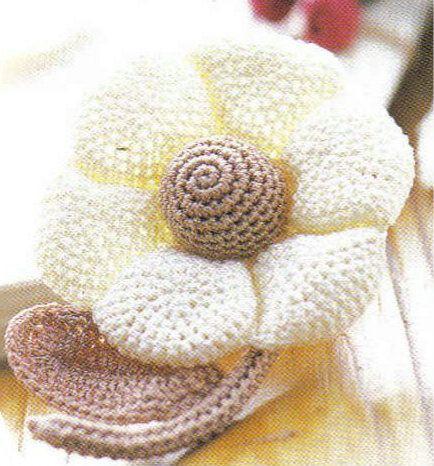 Pretty Crochet Flower Crochet Pinterest Crochet Flowers