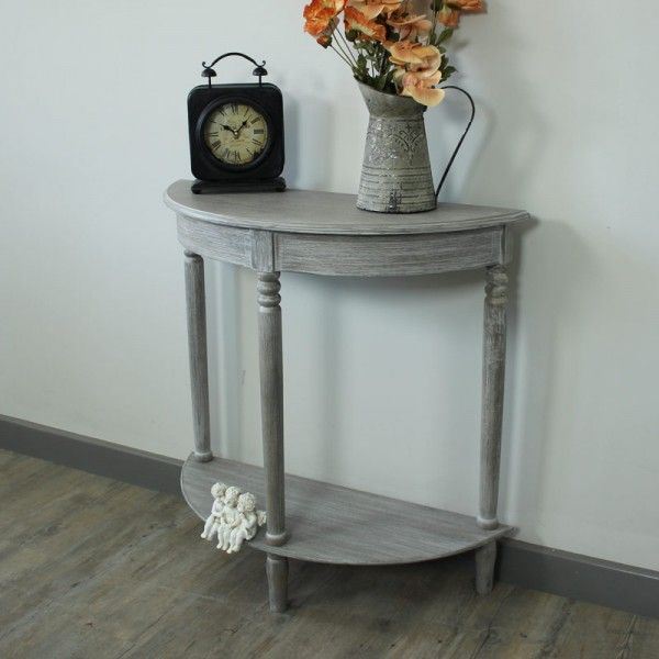 Millan Range Half MoonConsole Table Ideas for the House
