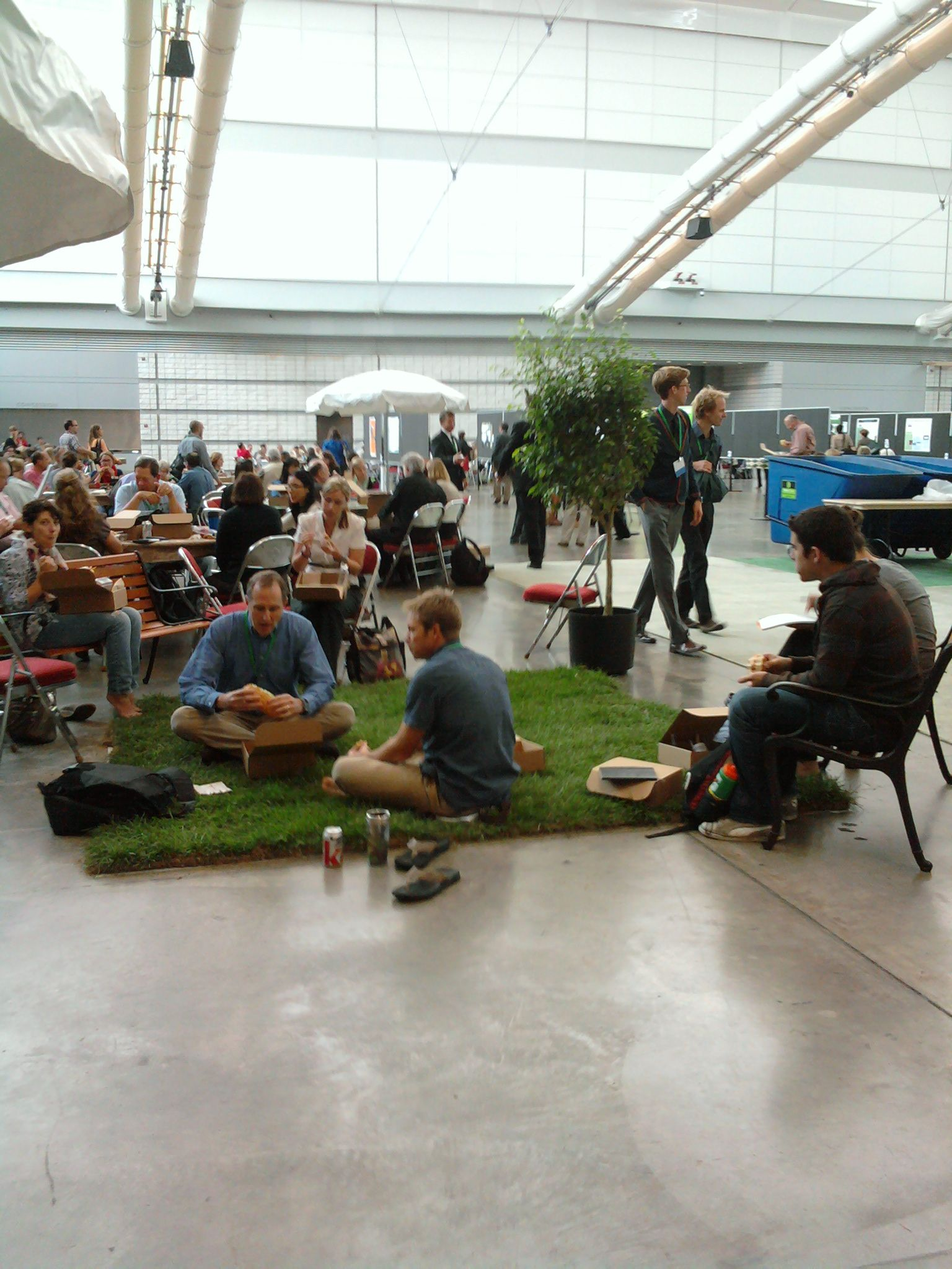 Picnic In Hall A During Association For The Advancement Of