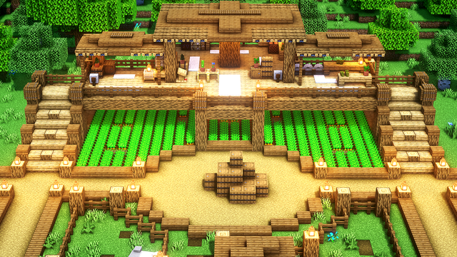 Today i made this farmhouse D I hope you will like it I also made a tutorial about it link in the ment section
