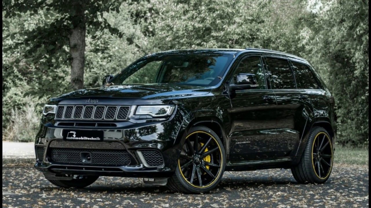 Video Jeep Grand Cherokee Trackhawk By B B Tuning Jeep Cherokee Tr In 2020 Jeep Grand Jeep Grand Cherokee Jeep Grand Cherokee Srt
