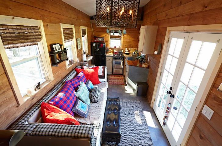 Gooseneck Tiny House Interior