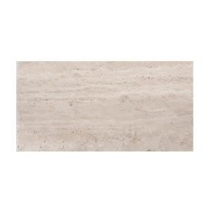 Jeffrey Court Travertine 6 In X 12 In Honed Travertine Floor And Wall Tile 1 Sq Ft Pack 98994 Jeffrey Court Travertine Wall Tiles Wall Tiles