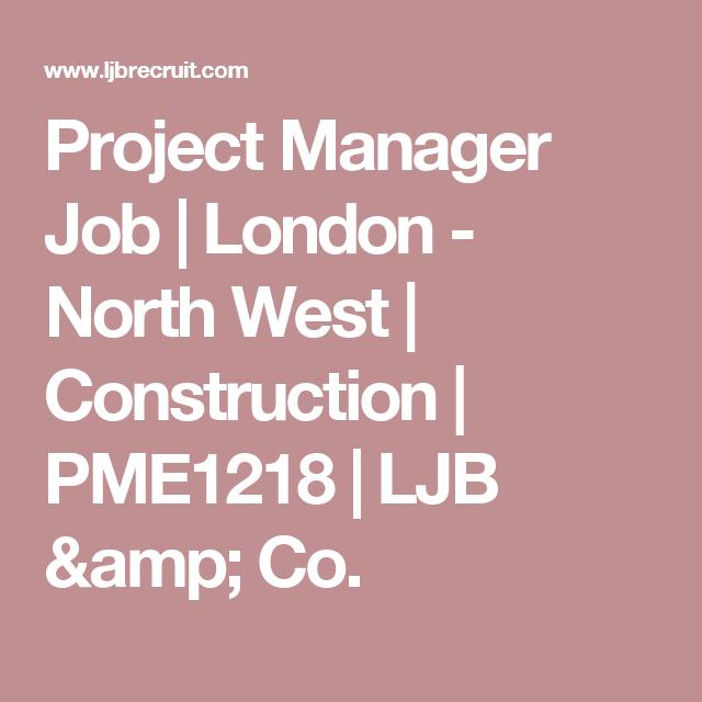 Project Manager Job Project Management Recruitment Job